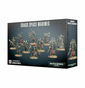 Chaos-Space-Marines-Squad-Black-Legion-Warhammer-40K-NIB