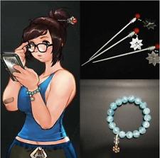 Original Game COS Mei Cosplay Costume headband bracelet Headwear Accessories