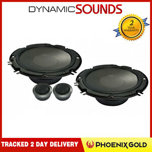 Phoenix Gold Z65CS 2 Way Car Door/Shelf Component Speakers 6.5""