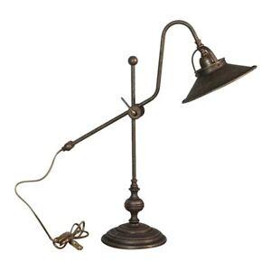 Lampada-da-tavolo-Scrittoio-in-ottone-TELESCOPICA