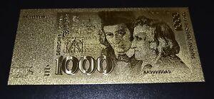 1000-Deutsche-Mark-DM-Banknote-Geldschein-in-Goldschein-mit-Zertifikat