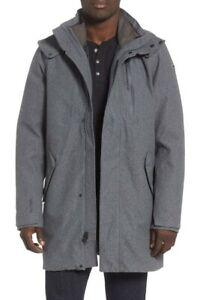Helly Hansen Mens Helsinki 3 in 1 Waterproof Insulated Hooded Jacket Coat Size M