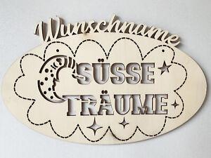 Details About Geburtsgeschenk Zur Taufe Bild Süße Träume Geschenk Personalisiert Wunschname