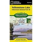 Yellowstone Lake Yellowstone National Park SE: Wyoming, USA by National Geographic Maps (Sheet map, folded, 2009)