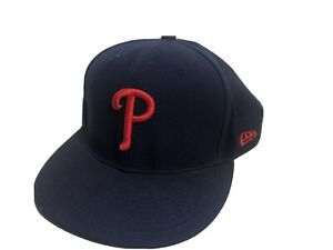 Official-Philadelphia-Phillies-New-Era-NFL-Navy-Blue-59FIFTY-Hat-7-5-8-Retro