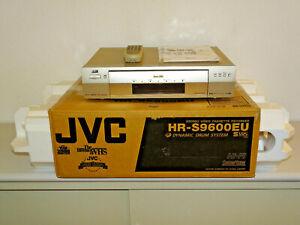 JVC HR-S9600 High-End S-VHS Videorecorder in OVP inkl. FB&BDA, 2 Jahre Garantie