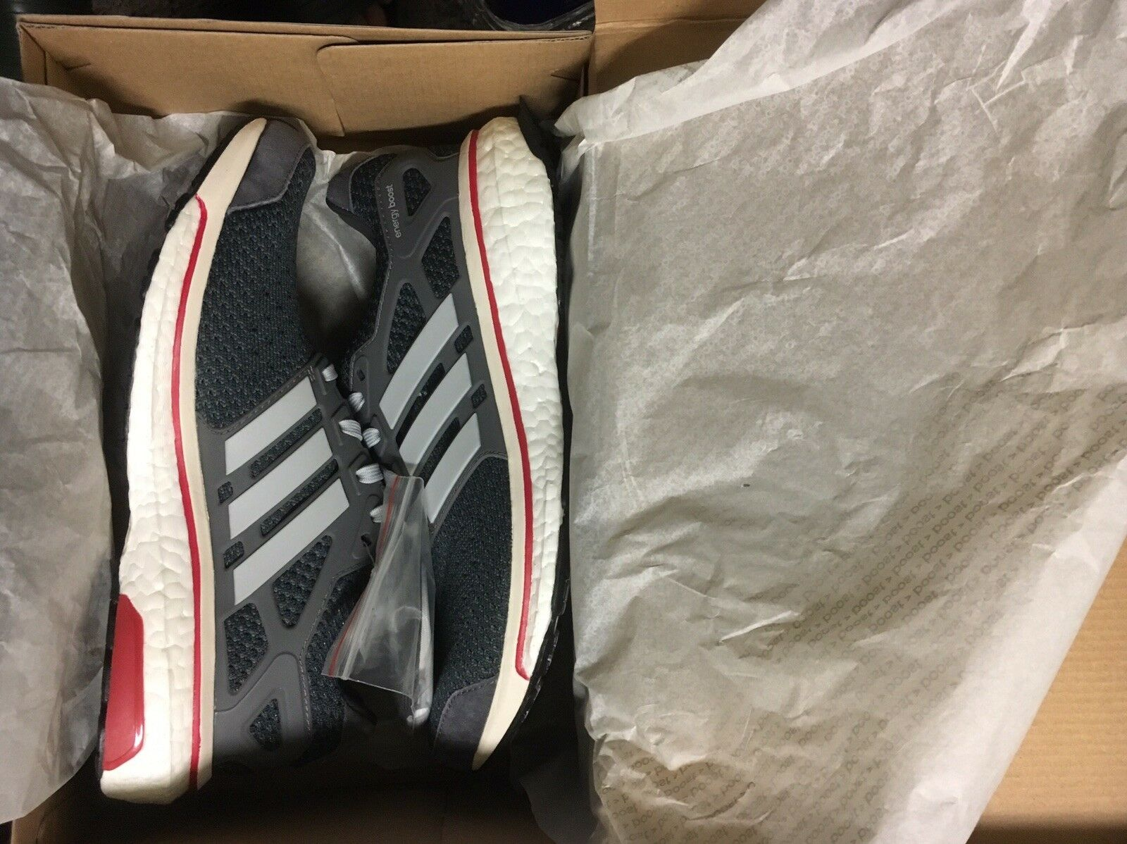 BRAND NEW MEN'S ADIDAS ENERGY BOOST RUNNING SHOES RARE COLOR WAY