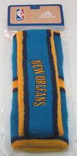 NBA New Orleans Hornets Multi-Color OSFA Head Wrist Band Set By adidas