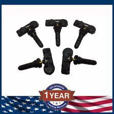 SET OF (5) Tire Pressure Monitoring Sensor TPMS Jeep Wrangler JK 2013 to 2016