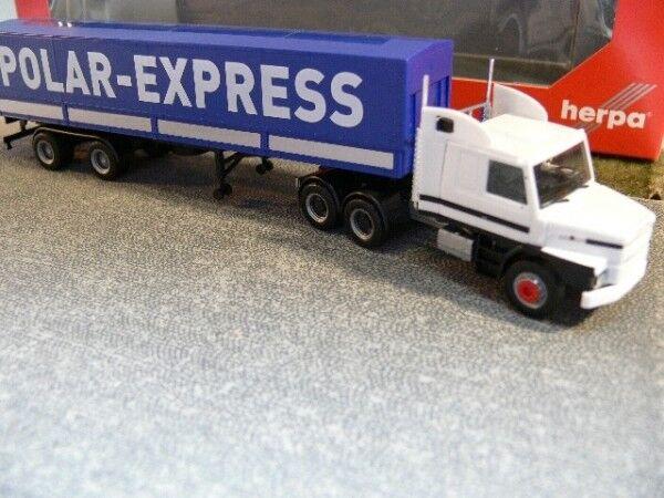 1 87 Herpa Scania 142 Hauber 6x4 Conception-Semi-remorque POLAR EXPRESS (fin) 307512