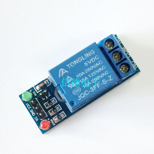 5PCS K70 1 channel 5V low level trigger relay expansion board