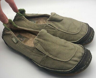 Green Toe Simple Loafers Flats Shoes