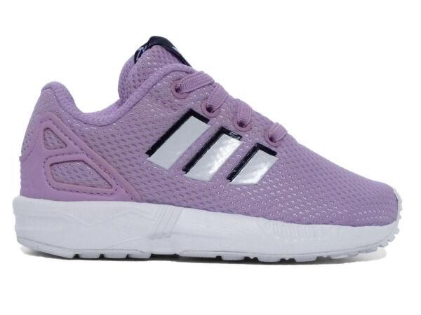 hot sales 629e6 43831 Adidas Scarpe Bambino Sneaker ZX Flux EL I By9892-rosa 25   Acquisti Online  su eBay