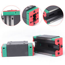 2pcs Linear Slide Block Hgh15ca Precision Carriage Motion Guide Rail Slide Block