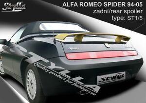 SPOILER REAR BOOT ALFA ROMEO SPIDER WING ACCESSORIES EBay - Alfa romeo spider accessories