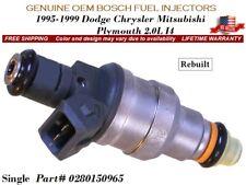 Eclipse Neon 2.0L *LIFETIME WARRANTY* Single Bosch Fuel Injector for Plymouth