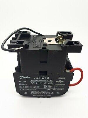 4kW Bobina Danfoss Tipo CI9 Contactor 380v 220v 50Hz 264v 60Hz tipo ci 9