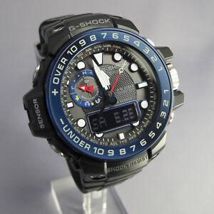 Casio-G-Shock-Gulfmaster-Tough-Solar-Atomic-Multiband-6-Men-039-s-Watch-GWN-1000B-1B