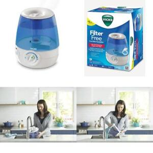 Details about Vicks Filter Free, Ultrasonic, Visible Cool Mist Humidifier For Medium Rooms