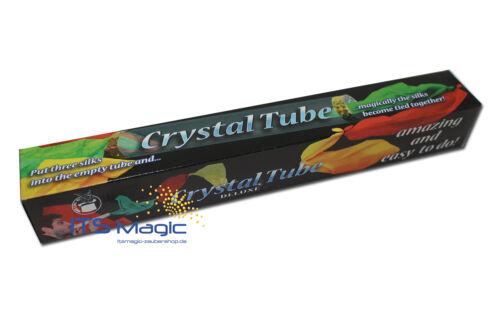 Crystal Silk Tube Tücher magisch verketten Magic 1009 Zaubertrick mit Tüchern