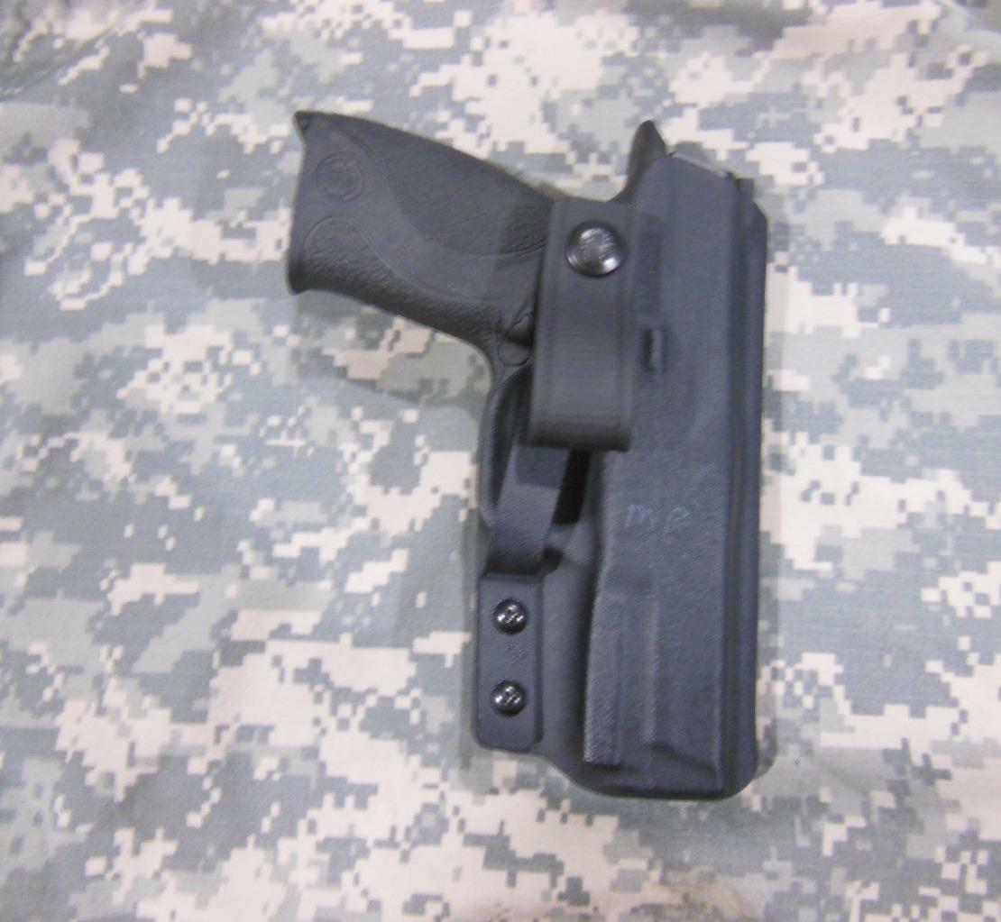 S&W M&P 9 40 Compact IWB Soft Loop Concealment Kydex Holster