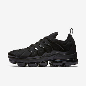 e1cad9b74f925 Image is loading NIKE-AIR-VAPORMAX-PLUS-924453-004-TRIPLE-BLACK-