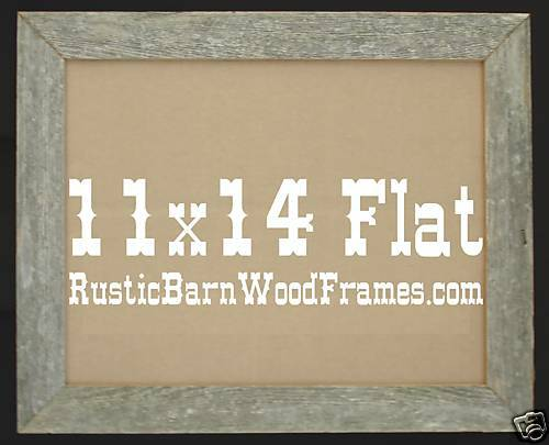 Lot of 6-8x10 Flat unfinished weathered rustic barnwood barn wood picture frames