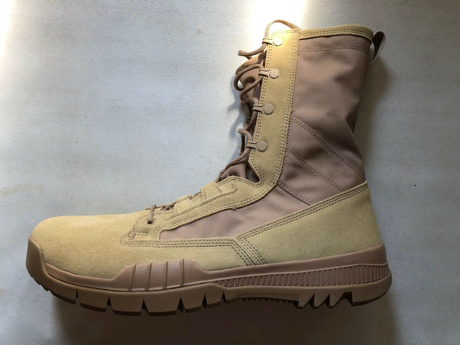 """New Nike SFB Special Field Boots 8"""" Leather Desert 688974-200 Sz 13"""