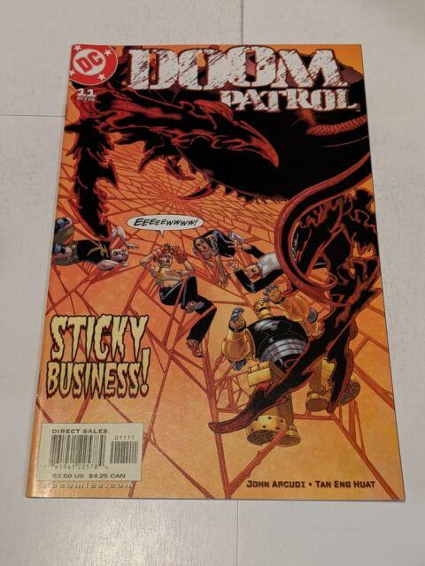 Doom Patrol #11 October 2002 DC Comics John Acudi Huat
