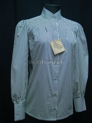 Victorian Blouses, Tops, Shirts, Vests Pioneer Old West Settler Trecker Victorian Frontier Classics Blouse sz S-3X $38.84 AT vintagedancer.com