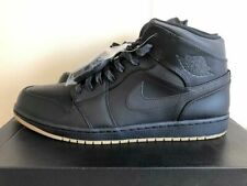 96fb59ff4fbf8d Air Jordan 1 Retro Mid Winterized Black AA3992-002 Mens Basketball Shoes  US15