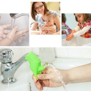 Bad-Silikon-Wasserhahn-Waschbecken-Extender-Bequem-Kinder-Waschen-Hand-Home