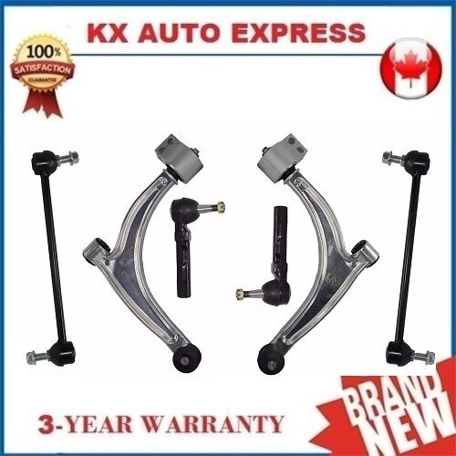 6 Piece Front Suspension /& Steering Kit for Pontiac G6 2005 2006 2007 2008 2009