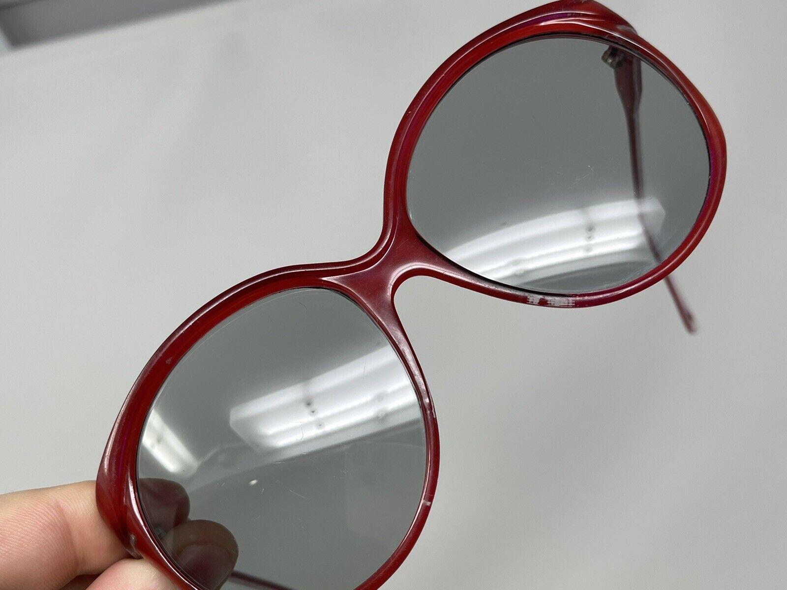 vintage Sunglasses Big Photocromatic Red SUNGLASS… - image 7