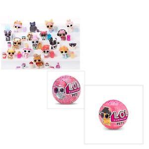 IndéPendant Lol Surprise Pets Series 4 Wave 1 & 2 Eye Spy Choisir Pet Ultra Rare, Gold Ball-afficher Le Titre D'origine