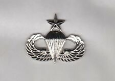ROK Korean Army US Style Senior Airborne Parachute Wing Badge 1.75 inch c/b