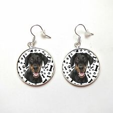 DOBERMANN doberman Ohrringe earrings - DK1