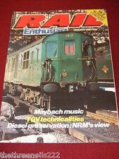 RAIL ENTHUSIAST #16 - MAYBACH MUSIC - JAN 1983