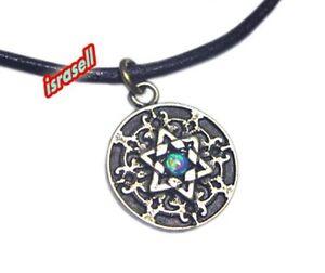 SHEMA YISRAEL NECKLACE WITH STAR OF MAGEN DAVID Shma Israel Jewish Prayer gift