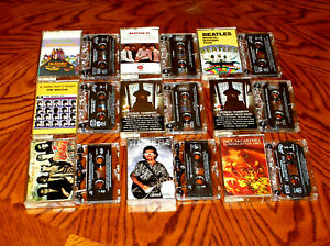 Beatles-G-Harrison-P-McCartney-solo-Wilburys-XDR-Cassette-Tape-Lot-PLAY-TESTED