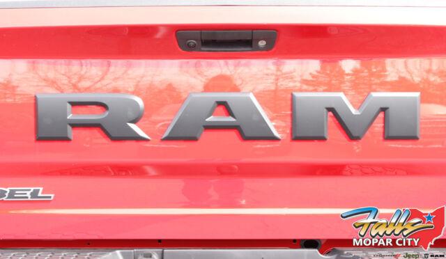 RAM Rebel Black Tailgate R A M Lettering Logo MOPAR OEM