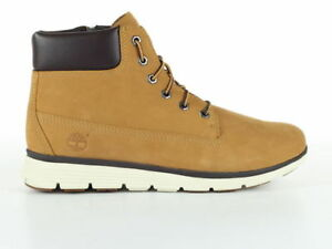 fe9325005fffc Scarponcino Timberland Junior Killington Youth Wheat Nubuck Ankle ...