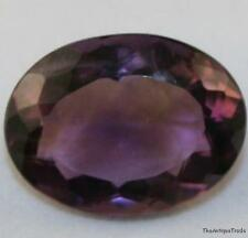 FACETED OVAL GEM 15X20 AMETHYST LOOSE GEMSTONE 15.2 CT LIGHT PURPLE AM11