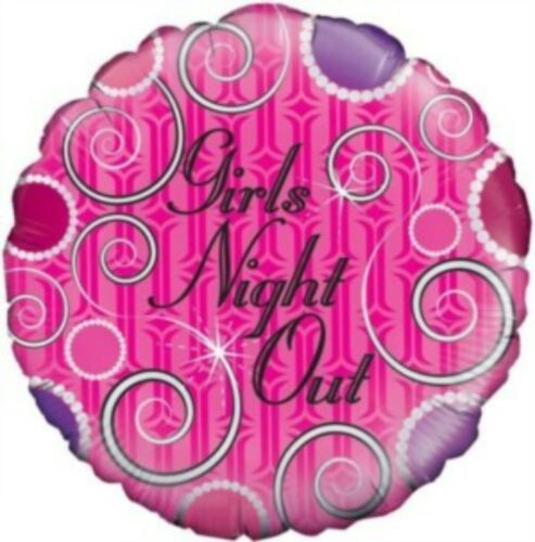 """Hen Night Girls Night Out Bride to Be Party Decoration Assorted 18/"""" Foil Balloon"""