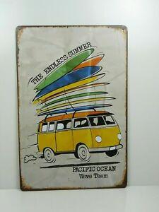 PA21F-PLAQUES-TOLEE-vintage-20-X-30-cm-The-Endless-Summer-Combi-Surf