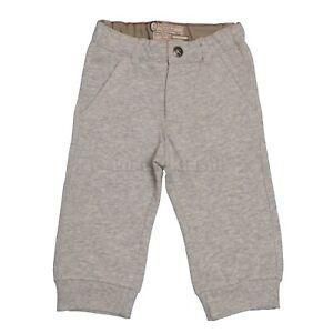Pantalone-Tuta-Con-Polsini-Grigio-in-Tinta-Unita-Neonato-Sarabanda-D152