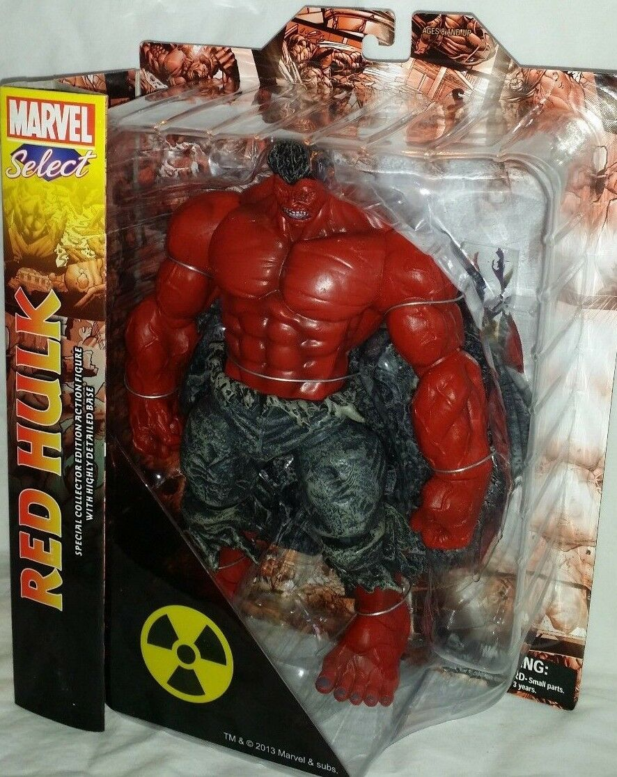 Marvel Diamond Select incroyable rouge Hulk Avengers Legends Universe 10  FIGURE