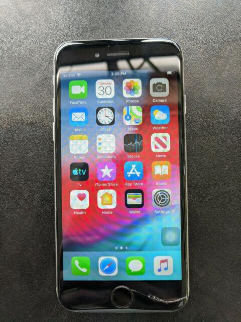 Apple iPhone 6 - 16GB - Silver (Sprint) A1586 (CDMA + GSM)