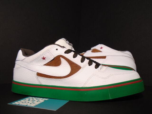 Nike Dunk ZOOM PAUL RODRIGUEZ 2.5 PECAN SB CALIFORNIA CALI BLANC PECAN 2.5 BROWN vert 9.5 Chaussures de sport pour hommes et femmes 921660