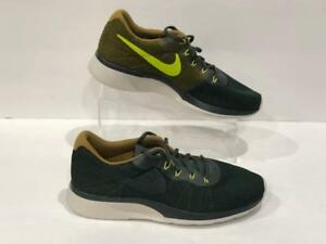 a74f4186a28ee1 Nike Tanjun Racer Mens 921669-300 Vintage Green Mesh Running Shoes ...